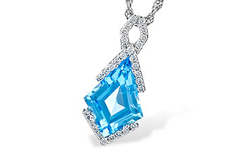 B272-93365: NECK 2.40 BLUE TOPAZ 2.53 TGW