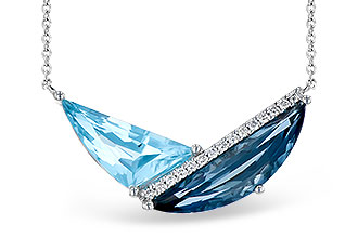 D272-94328: NECK 4.66 BLUE TOPAZ 4.75 TGW
