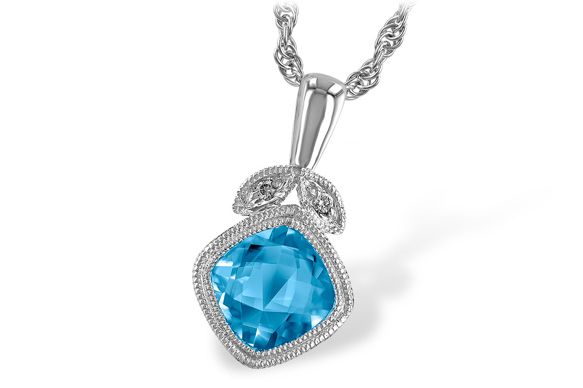 E186-61583: NECK 1.05 BLUE TOPAZ 1.06 TGW