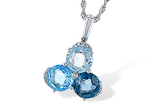 E189-28901: NECK 4.01 BLUE TOPAZ 4.06 TGW