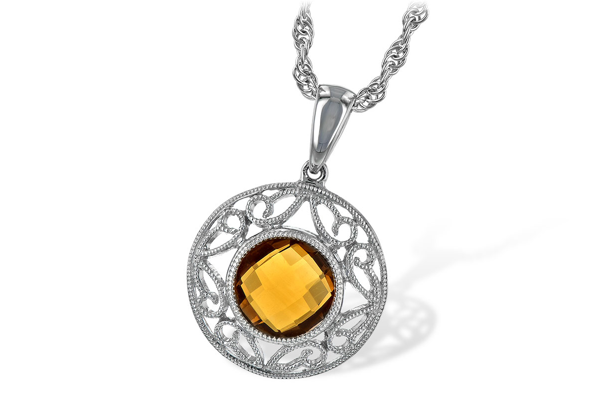 L189-32482: NECK 1.04 CT CITRINE