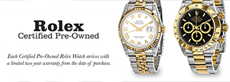 Rolex Certified Pre-Owned