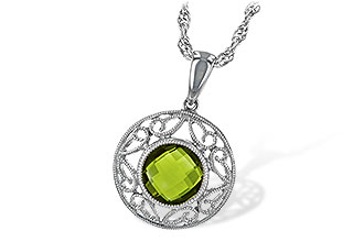 B189-32483: NECK 1.35 CT PERIDOT