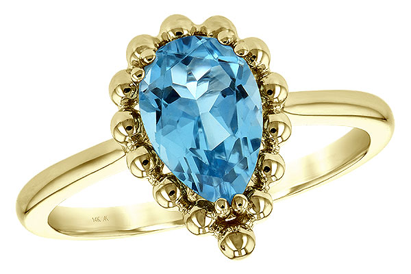 C189-31619: LDS RG BLUE TOPAZ 1.55 CT
