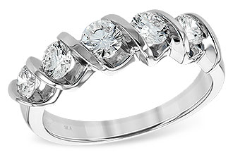 D092-97083: LDS WED RG 1.00CT TW