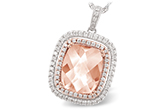D188-40674: NECK 4.20 MORGANITE 4.66 TGW