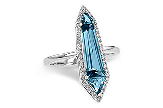 D190-19765: LDS RG 2.20 LONDON BLUE TOPAZ 2.41 TGW