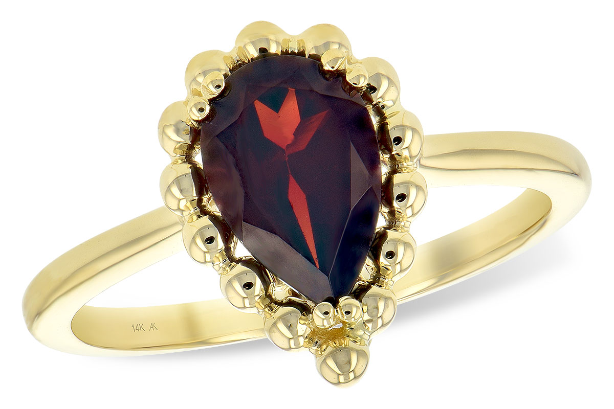 G189-31619: LDS GARNET RING 1.38 CT