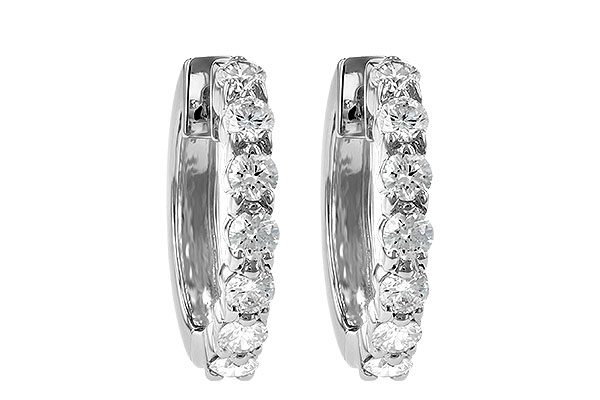 H001-12464: EARRINGS 1.00 CT TW