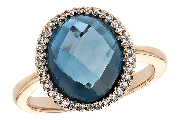 H189-29737: LDS RG 5.31 LONDON BLUE TOPAZ 5.45 TGW