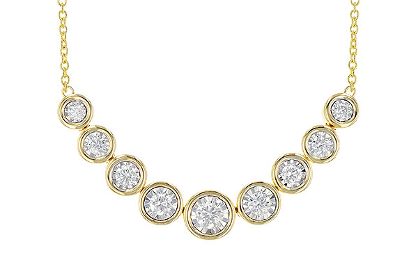 H272-94328: NECKLACE 1.00 TW