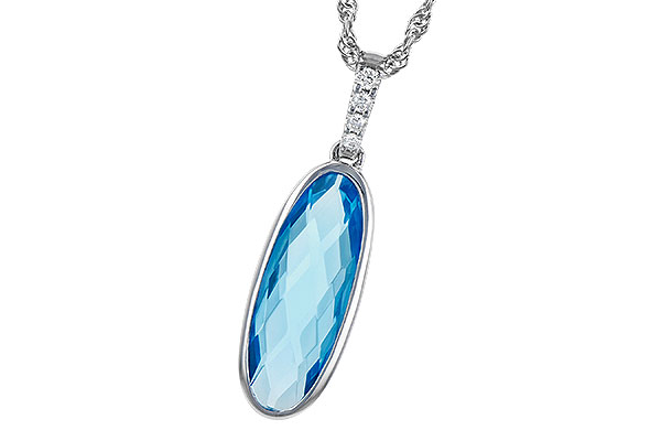 K272-94328: NECK 1.90 BLUE TOPAZ 1.93 TGW