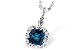 L189-28819: NECK 1.63 LONDON BLUE TOPAZ 1.80 TGW